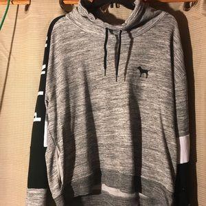 Cowl Neck VS Sweatshirt size L